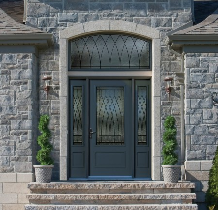 Fiberglass And Steel Entrance Doors With Curb Appeal