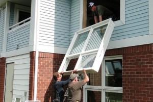 scheel workers installing windows
