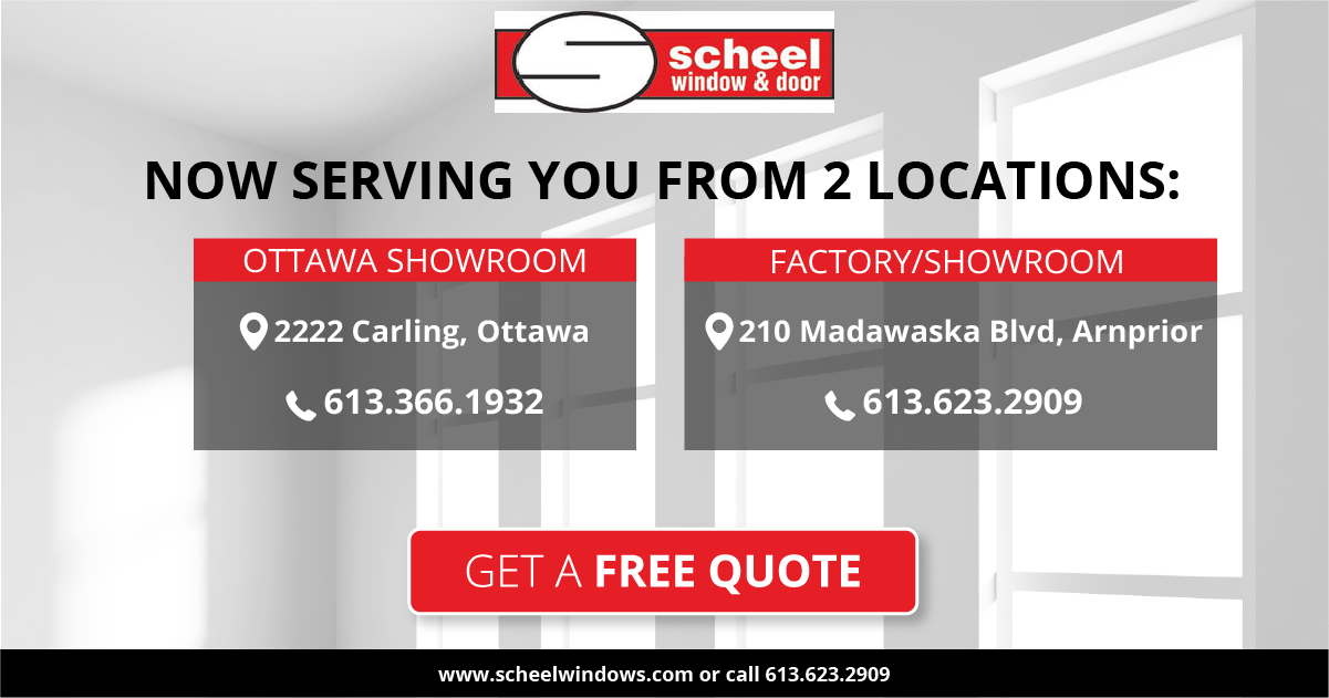 Ottawa Windows And Doors Replacement Windows Scheel